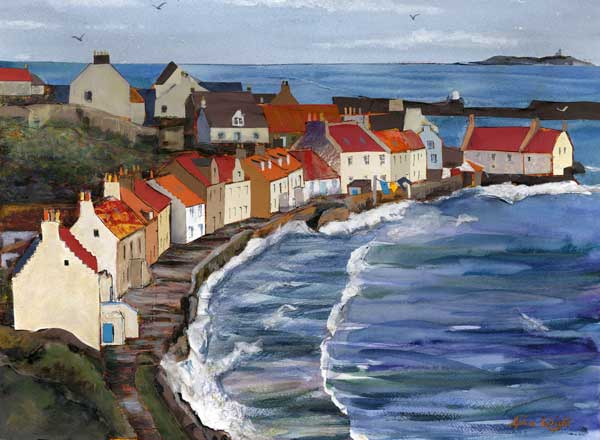 West Shore From The Braes, Pittenweem
