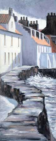 West Shore Sea Wall, Pittenweem